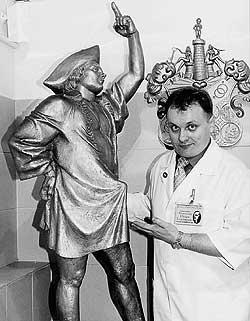 скульптура Луки Мудищева из С-Питербургского музея эротики