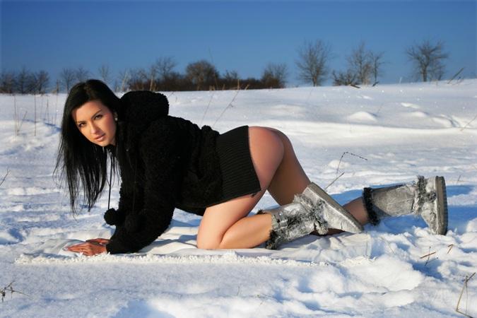 Снег русскую девку рабыня порно онлайн
