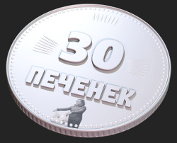 3D-модель, сделанная в Blender