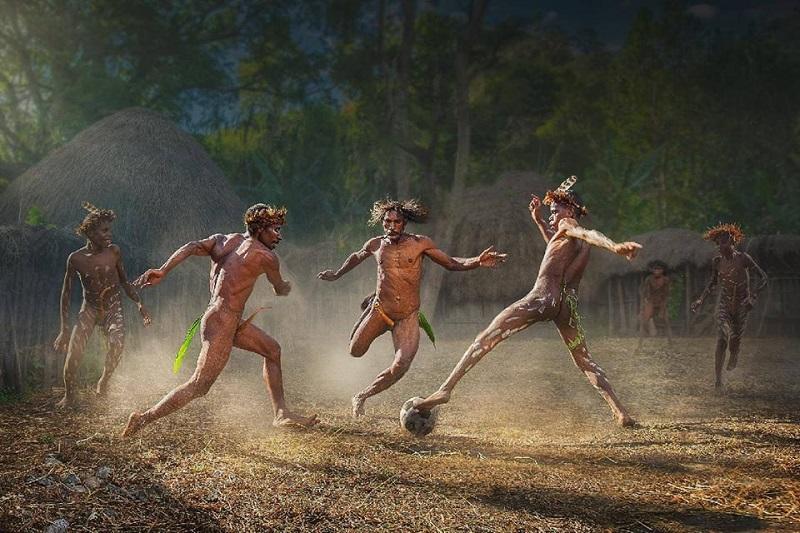 Папуасский футбол- секрет спортивной победы