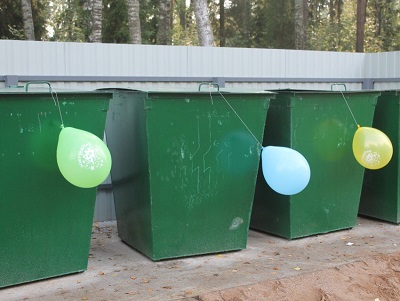 Речь на открытие мусорки