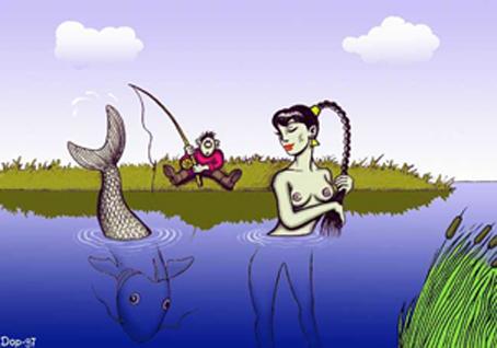 женщина на рыбалке смешные картинки