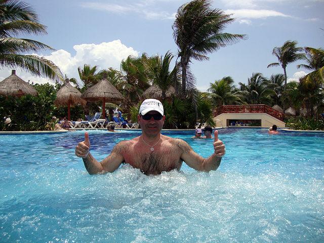 Я в Канкуне
