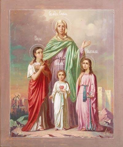 Вера надежда любовь мать их софья и