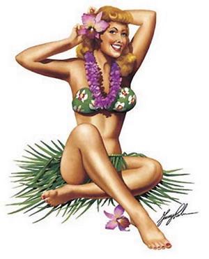 Я огляделась – пляж, пальмы… красиво…
