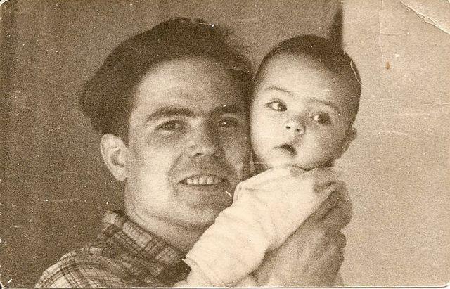Я с папой. 1961.
