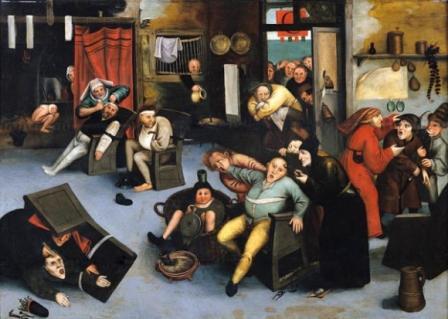 Прикольные картинки пьянка в деревне