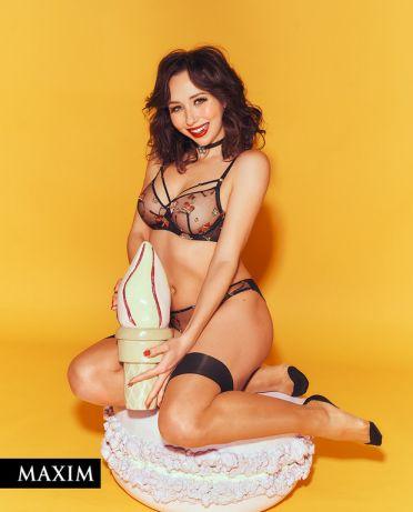 Фото из журнала Maxim