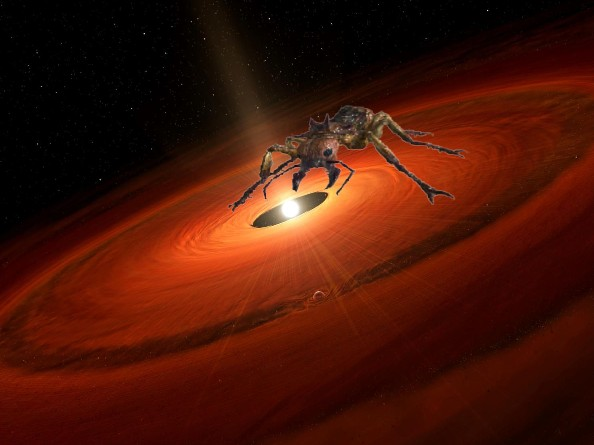 Найдена муравьиная кислота в системе звезды TW Гидра