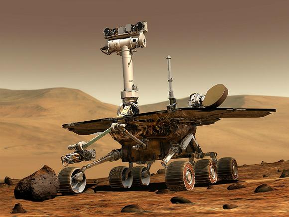 Марсоход нашёл воду