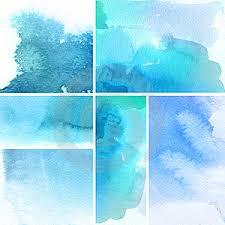 акварель абстракции