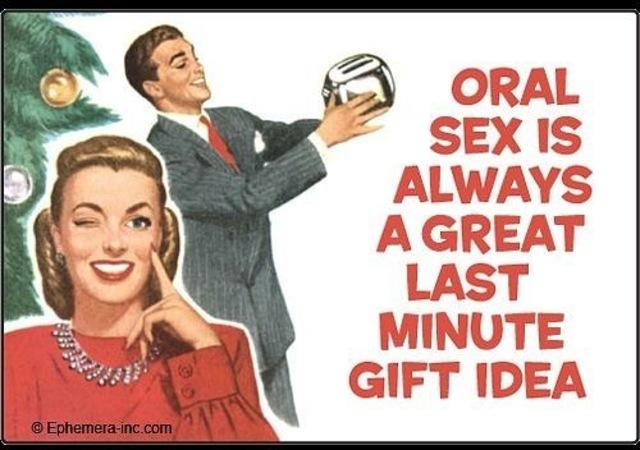 Оральный СЕКС - подарок Новогодний?