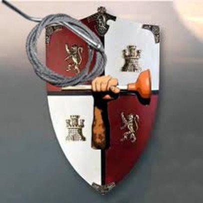Подарок на 23 февраля - стальная плеть и железный жезл
