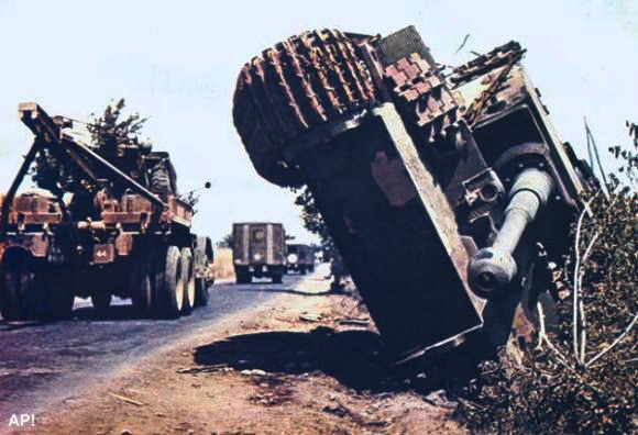 "Немецкий танк ""Тигр""."