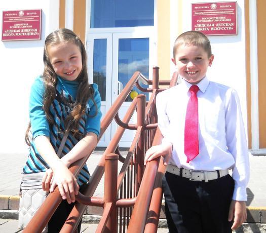 Даша и Яник на Фестивале